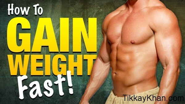 How To Gain Weight: Fast & Naturally In One Week