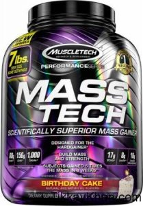 ADVANCED & NEW MASS GAINER – MUSCLE TECH