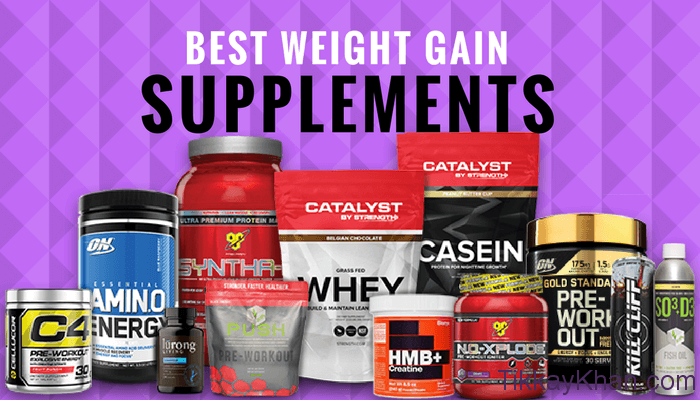 Best Weight Gain Supplement: Top 10 Weight Gain Supplements For BodyBuilding