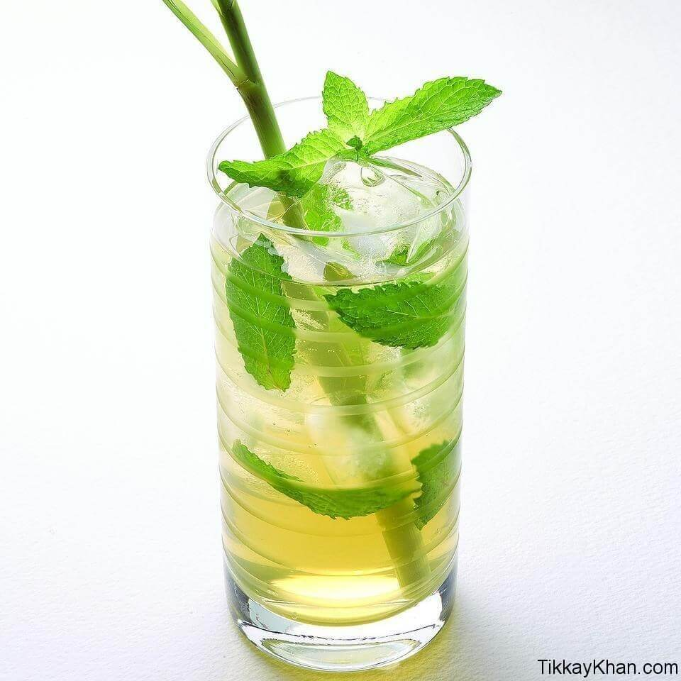 Mint with Green Tea