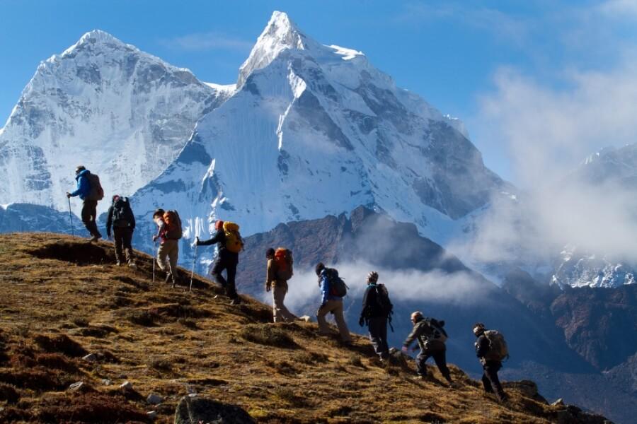 Climb On Mountain