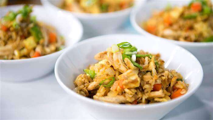 Healthy Pan-Fried Rice