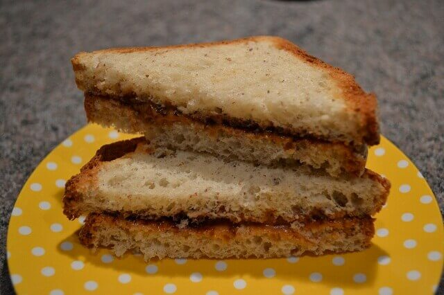 Jelly & Almond Butter Sandwich