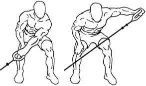 One Arm Standing Bent