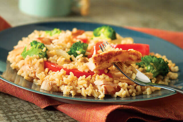 Rice Stir And Chicken Fry
