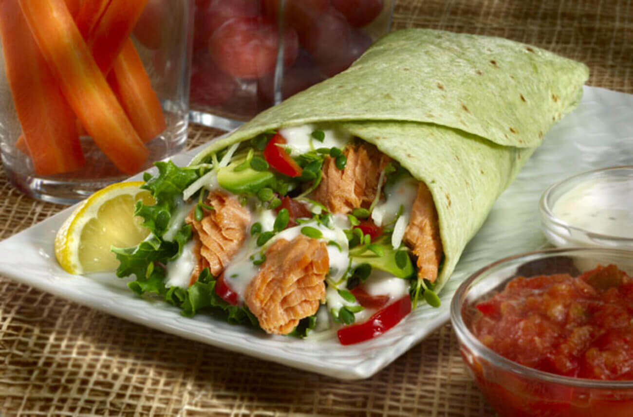 The Salmon Wrap