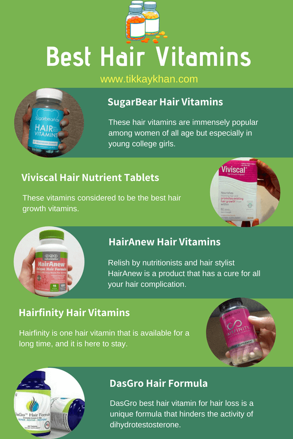 Best hair vitamins
