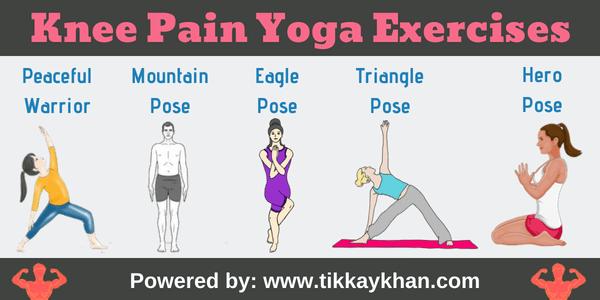Knee Pain Yoga Exercises