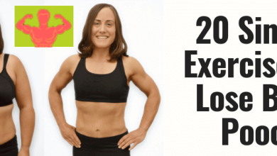 Photo of 20 Simple Exercises to Lose Belly Pooch