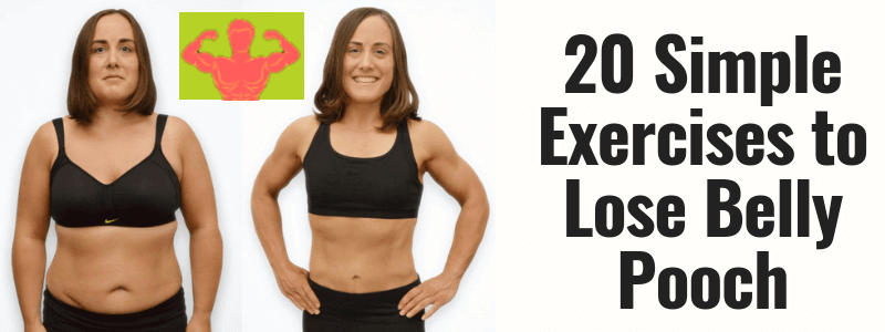 20 Simple Exercises to Lose Belly Pooch