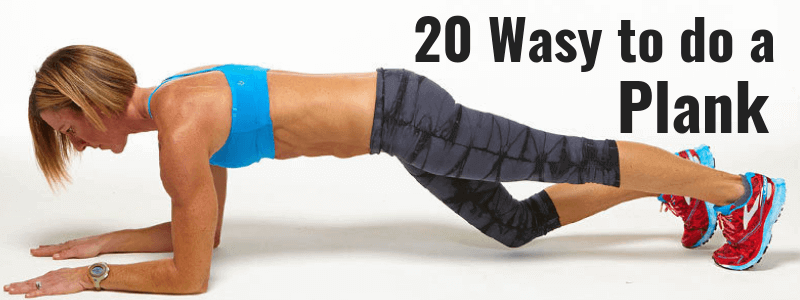 20 Ways to Do a Plank – A Complete Guide