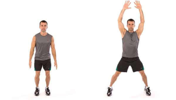 Jumping Jacks for Constipation