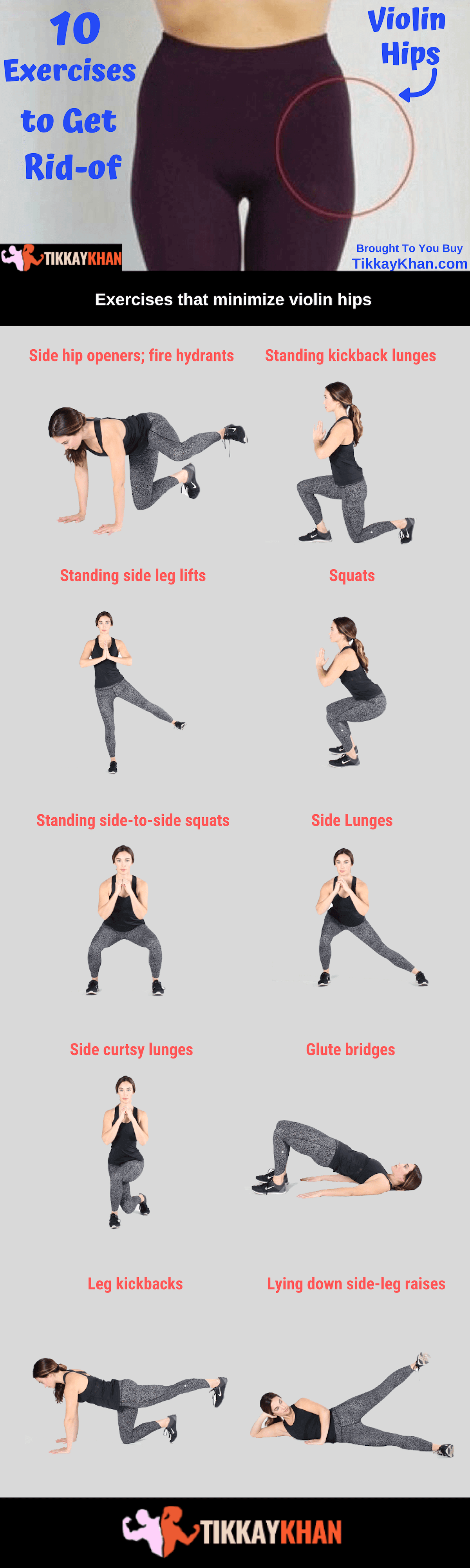 10 Exercises to Get Rid of Violin Hips