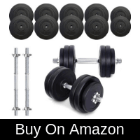 TNP ACCESSORIES VINYL DUMBBELL SET