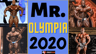 Photo of Mr. Olympia 2020