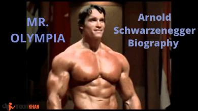 Photo of Arnold Schwarzenegger Biography 7 Time Champion