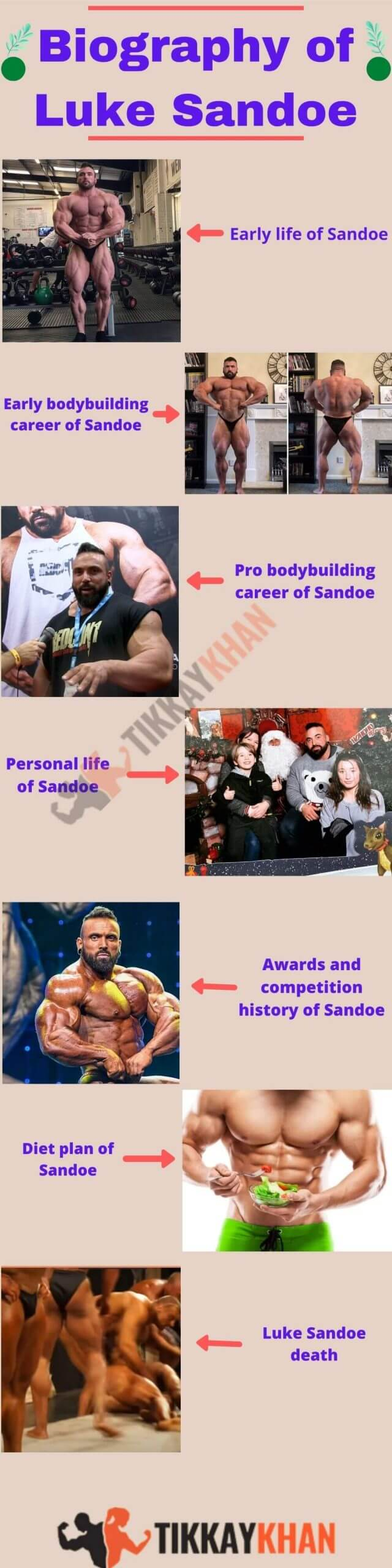 biography of luke sandoe infographic