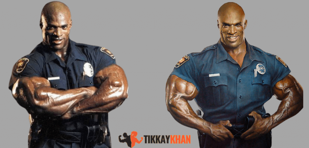 ronnie coleman as police officer