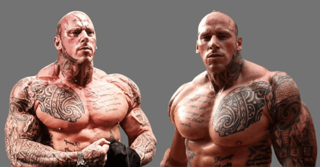 Physical standard of Martyn Ford