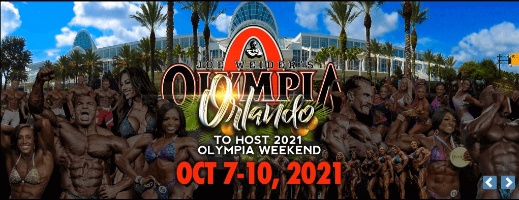 Mr. Olympia 2021 Date