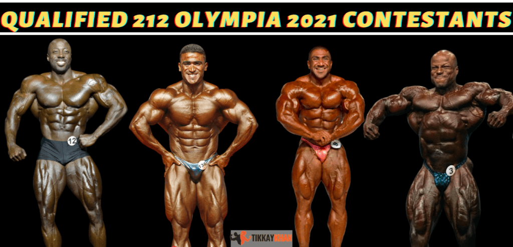 Qualified 212 Olympia
