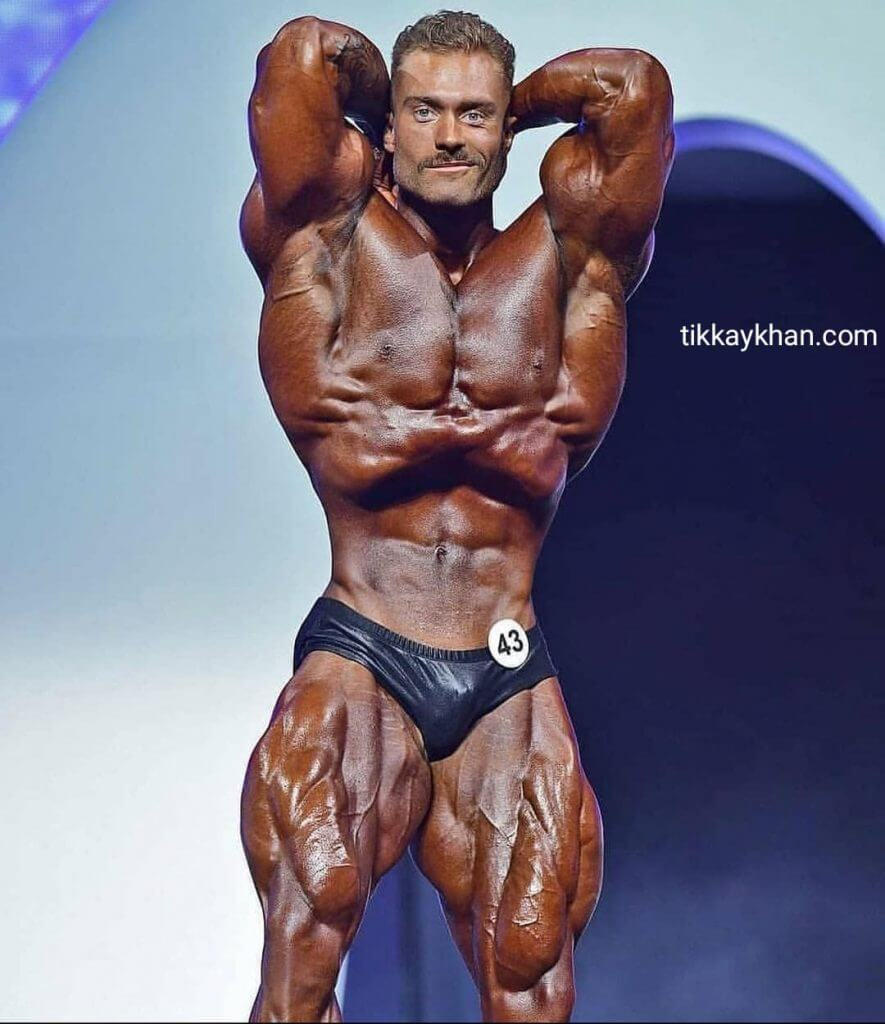 Chris Bumstead Height
