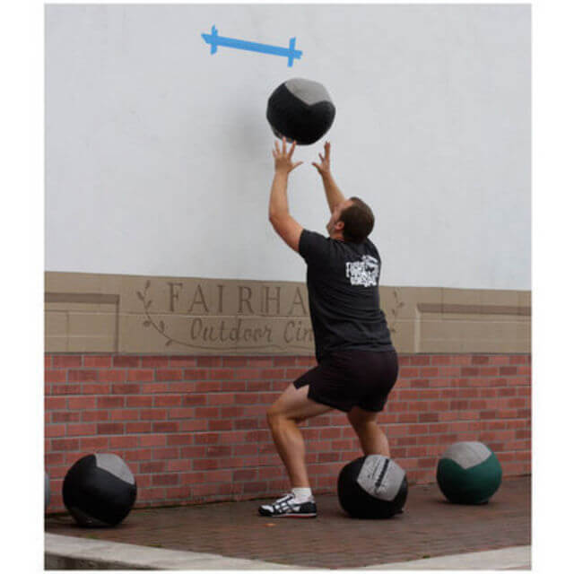 wall ball exercise