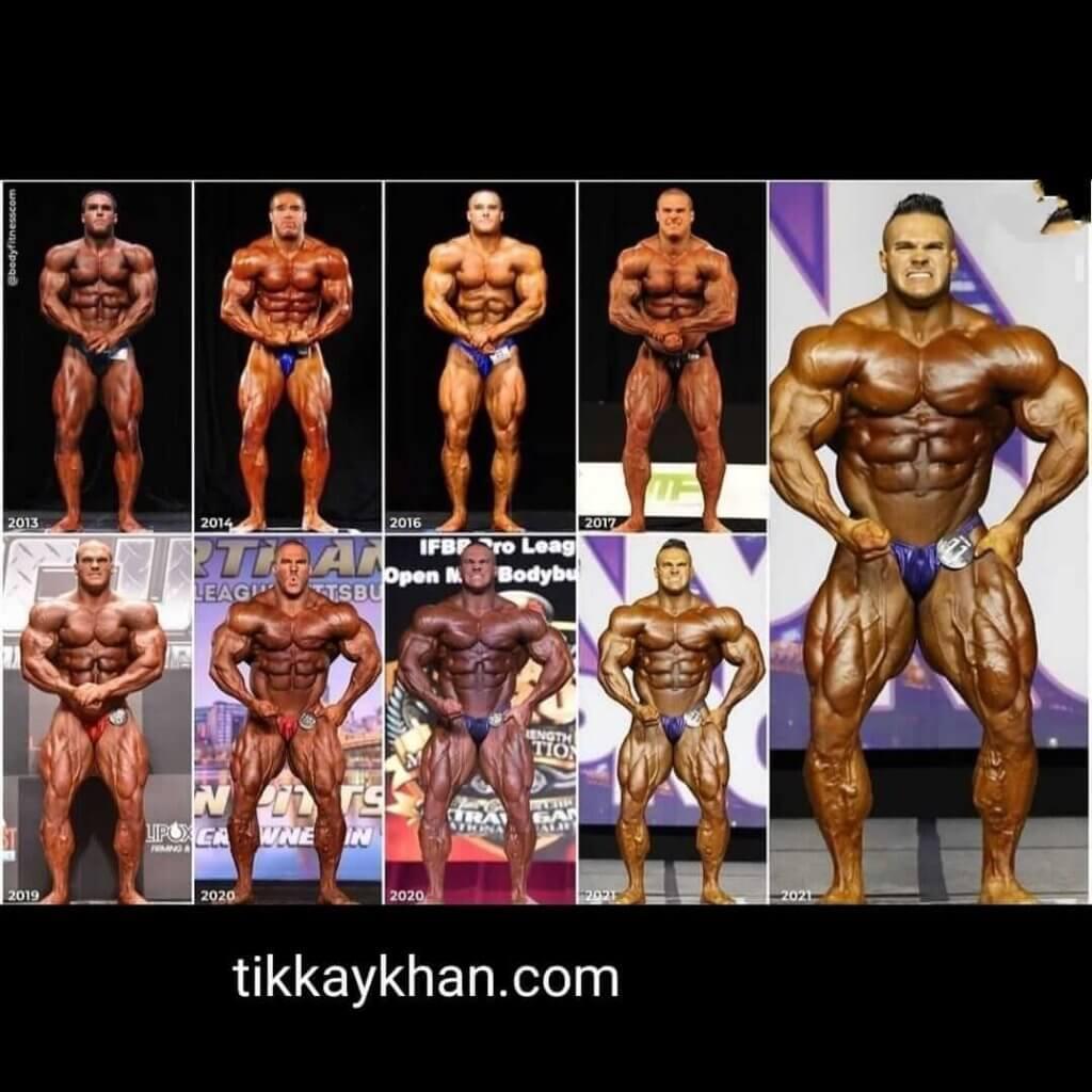 Nick walker bodybuilding career