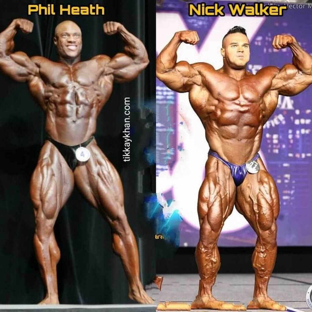 Phil Heath vs Nick Walker