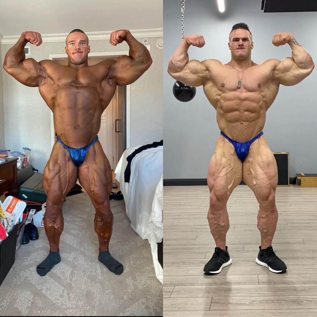 Nick walker best muscular award arnold classic 2021