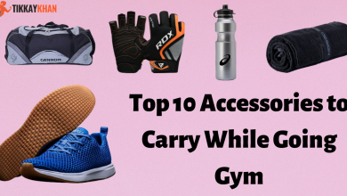 Photo of Top 10 Accessories to Carry While Going Gym