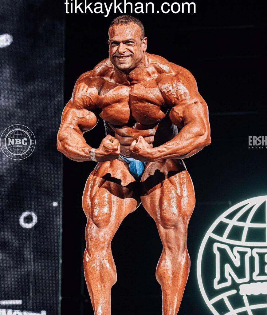 Mokhamed El Emam from (Russia)