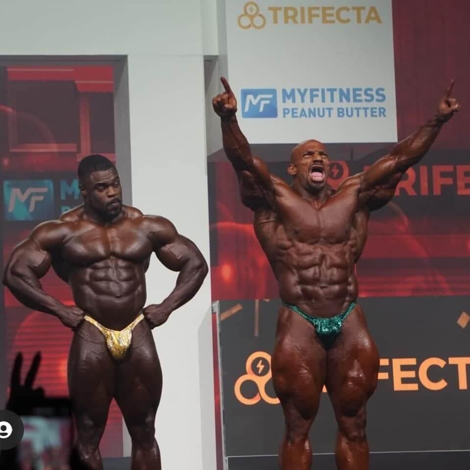 big ramy won 2021 Mr. Olympia